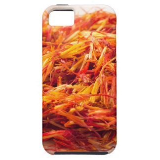 Macro view on fragrant saffron closeup iPhone 5 case
