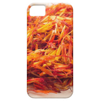 Macro view on fragrant saffron closeup iPhone 5 covers