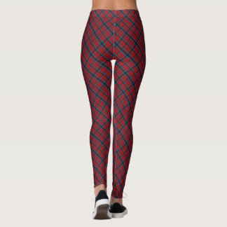 MacTavish tartan plaid Leggings