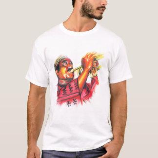 MacTontoh Color Image on Dark Background T-Shirt