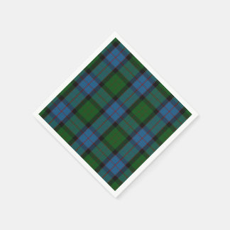 MacWilliam Tartan Plaid Paper Napkins