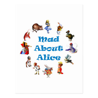 MAD ABOUT ALICE POSTCARD