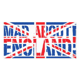 Mad About England Picture Card