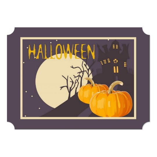 Mad About Halloween Halloween Party Invitations