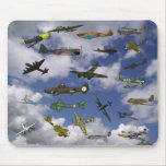 Mad About Planes Mouse Pad