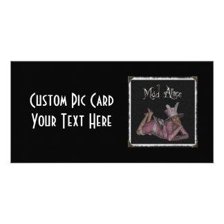 Mad Alice Snapshot 1 Photo Greeting Card