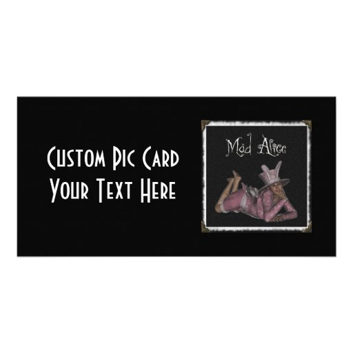 Mad Alice Snapshot 1 Picture Card