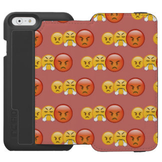 Mad/Angry Emoji Pattern Incipio Watson™ iPhone 6 Wallet Case