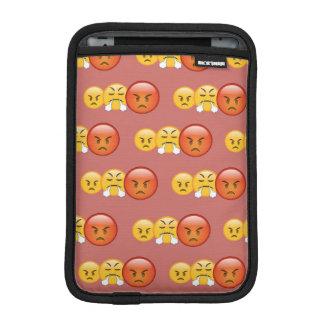 Mad/Angry Emoji Pattern iPad Mini Sleeve