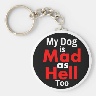 Mad as Hell Key Ring