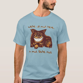 Mad Cat by Aleta Two-Sided T-Shirt