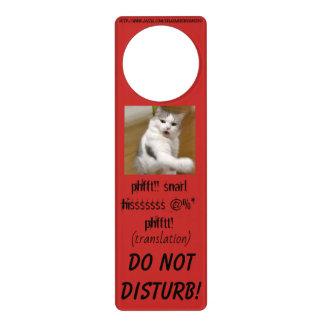 """""""Mad Cat"""" Door Hanger"""