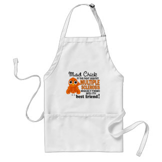 Mad Chick 2 Best Friend Multiple Sclerosis MS Apron