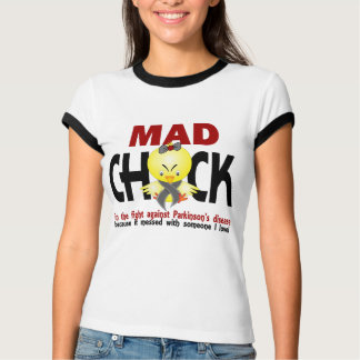 Mad Chick In The Fight Parkinson's Disease T-Shirt