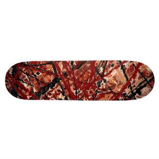 MAD DASH (an abstract art design) ~ Custom Skateboard