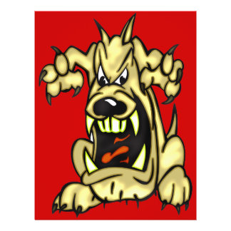 Mad Dog 21.5 Cm X 28 Cm Flyer