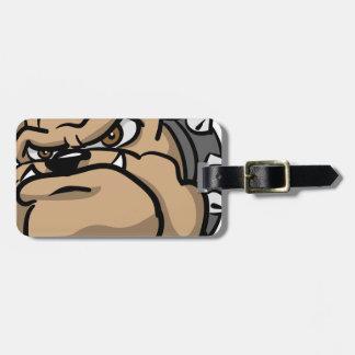 Mad Dog Luggage Tag