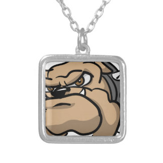 Mad Dog Silver Plated Necklace