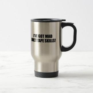 Mad duct tape skills coffee mug