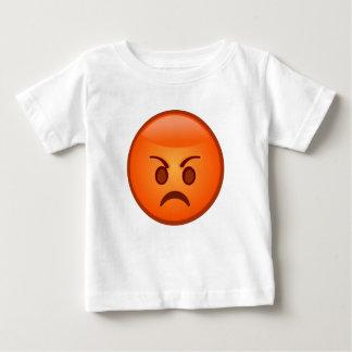 Mad Face Emoji Baby T-Shirt