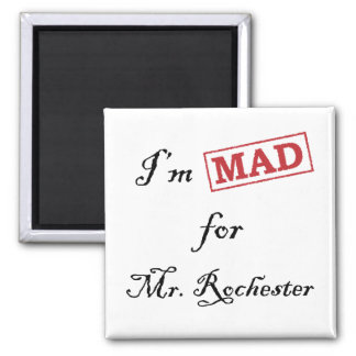 Mad for Mr. Rochester Magnet