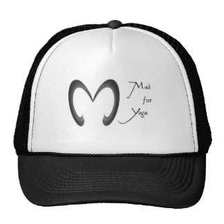 mad for yoga trucker hat