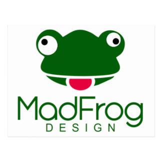 Mad Frog Design Postcard