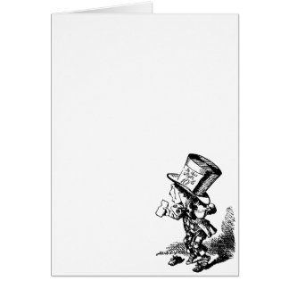 Mad Hatter - Alice In Wonderland Greeting Card