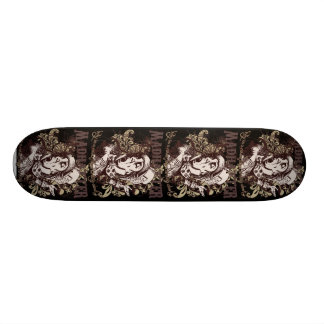 Mad Hatter Carnivale Style Skate Board Deck