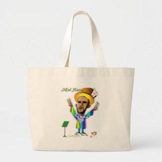 Mad Hatter in Obama Land Jumbo Tote Bag