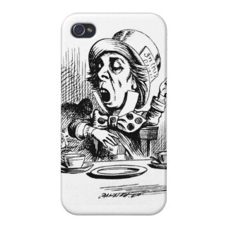 Mad Hatter iPhone 4 and 4S Case Cases For iPhone 4