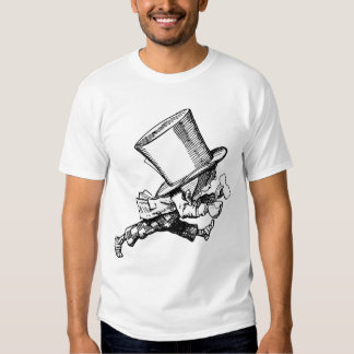 Mad Hatter just as hastily leaves T Shirt