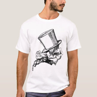 Mad Hatter just as hastily leaves T-Shirt