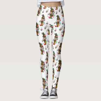 Mad Hatter Leggings, Alice's Adventures Wonderland Leggings