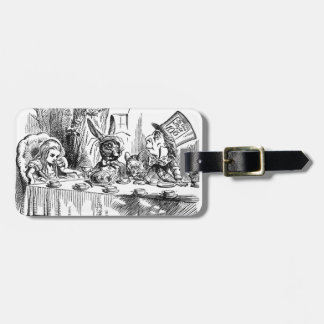 Mad Hatter Luggage Tag