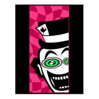 Mad Hatter Postcard
