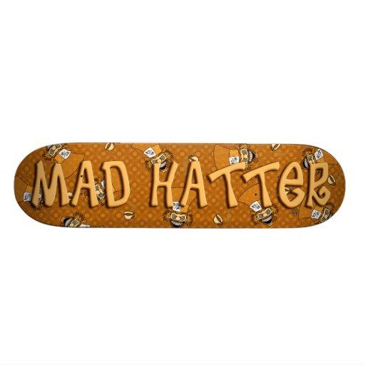Mad Hatter Skateboard (Orange)