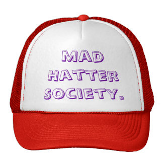 Mad Hatter Society. Cap