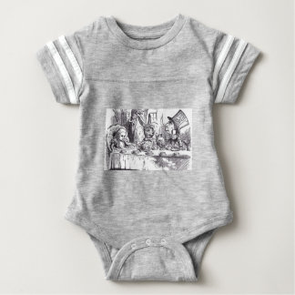 Mad Hatter Tea Party Baby Bodysuit