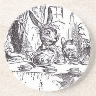 Mad Hatter Tea Party Drink Coaster