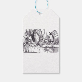 Mad Hatter Tea Party Gift Tags