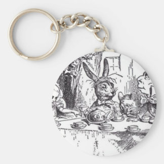 Mad Hatter Tea Party Key Ring