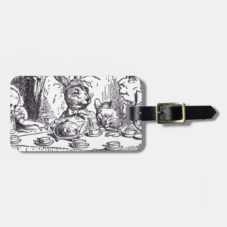 Mad Hatter Tea Party Luggage Tag