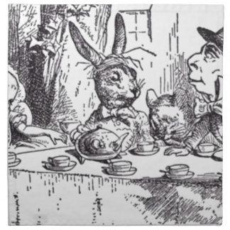 Mad Hatter Tea Party Napkin