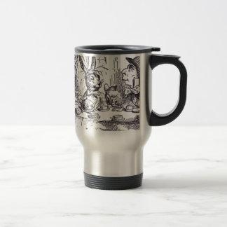 Mad Hatter Tea Party Travel Mug