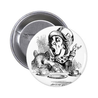 Mad Hatter with Dormouse Pin