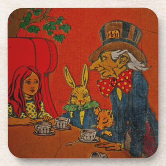 Mad Hatter's Tea Party Coasters