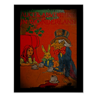 Mad Hatter's Tea Party Cover Posters
