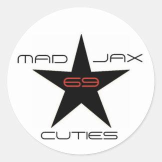 Mad Jax 69 Cuties Round Sticker
