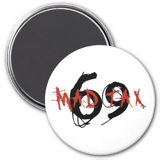 mad jax 69 magnet